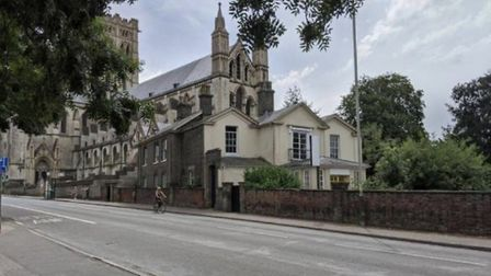 Two Victorian buildings, which formed the NR2 hotel, in Earlham Road, Norwich, are up for sale. Pic: