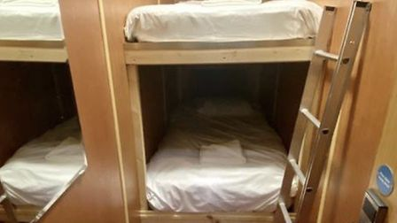 The bunk bed pods in NR2
