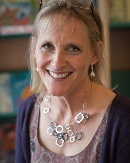 Penny Sheppard, headyteacher at Queen's Hill Primary at Costessey. Picture: Bill Smith