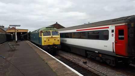 A platform at the Mid Norfolk Railway. Picture: Mid Norfolk Railway