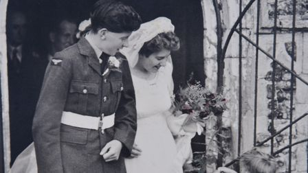Stella and Jack Spooner who live in Norwich are celebrate ting their 70th Wedding Anniversary today