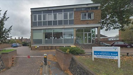 The NSFT's service for children and young people on 80 St Stephens in Norwich. Photo: Google Maps