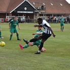 Jerry Dasaolu is looking forward to showcasing his pace for Dereham after moving from Wroxham. Pictu