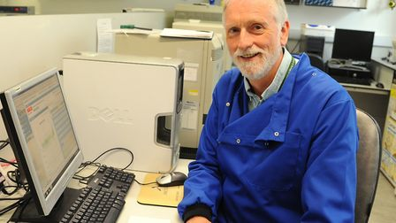 Prof Dylan Edwards is part of a cancer research team at the UEA funded by the Big C Picture: Denise