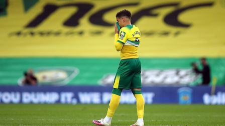 Premier League anguish for Max Aarons - but the Championship is the place to be... isn't it? Pictur