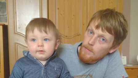 Colin Davis, from Hunstanton, has been trying to book a test for his one-year old son Ryan. Photo: C