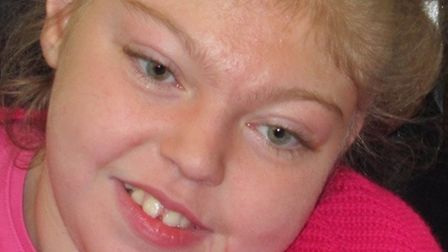 Maisie Newell, who died at the age of 13 in 2014. Her father, Dean Smith, is accused of her murder.