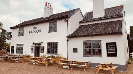 The Falcon at Pullham Market has bought storage heaters and gazebos. Picture: The Falcon