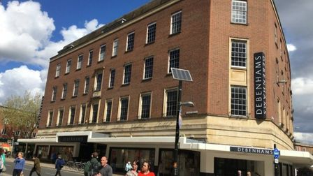 The Norwich Debenhams store has reopened its cafe. Pic: Archant