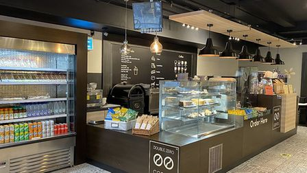 Double Zero has partnered with Debenhams and the cafe has reopened in the Norwich store.. Pic: Doubl