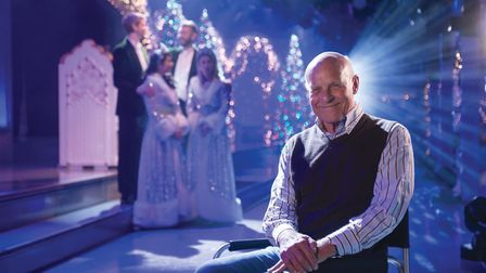 John Cushing, owner and director of the Thursford Christmas Spectacular. Picture: Thursford Collecti