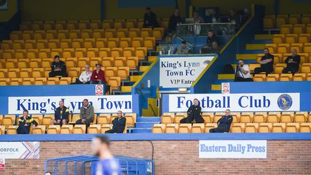 When will fans be allowed back to matches? Picture: Ian Burt