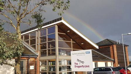 The Dragonfly Unit in Lowestoft. Picture: Norfolk and Suffolk NHS Foundation Trust