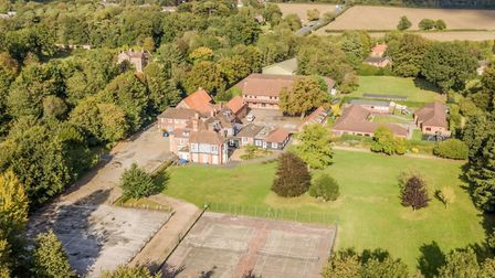 Hethersett Old Hall School isbeing turned into Norfolk police's new training centre. Picture: Norfol