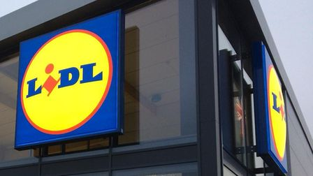 The new Lidl supermarket in Sprowston Credit: Louisa Baldwin