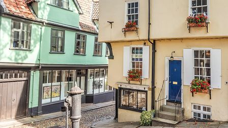 This four-bedroom property on historic Elm Hill is rumoured to be featured in Netflix's new Christma