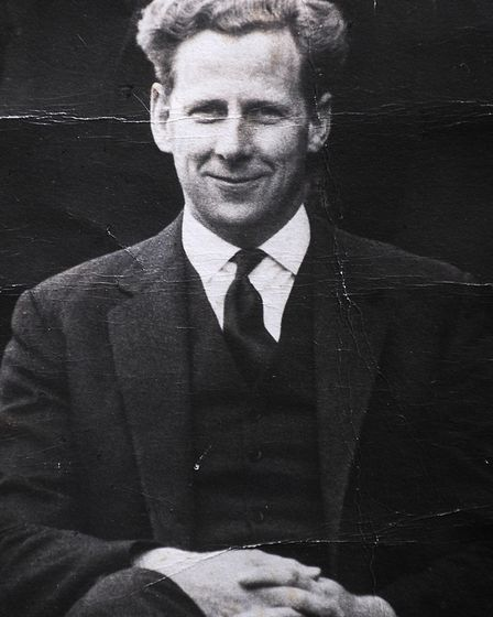 Logie Bruce-Lockhart pictured in 1953 during his first year at Gresham's. PHOTO: Copy by ANTONY KELL