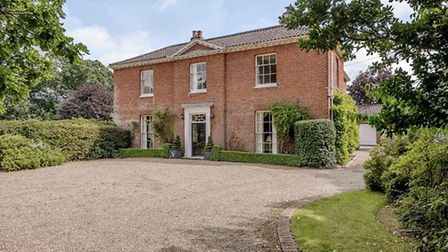 This Georgian rectory in Smallburgh, sitated in extensive gardens and grounds, has just gone under o