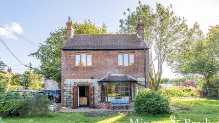 This home in Town Road, Ingham, with a large garden has just gone on the market for £325,000. Pic: M