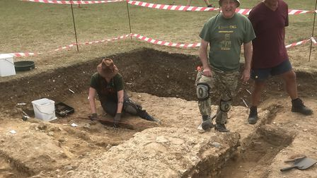 One of the largest Roman temples has been discovered near Norwich. Picture: Will Bowden