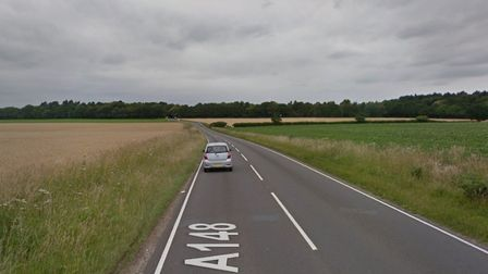 One person has been seriously injured in a crash on the Cromer Road, A148. Picture: Google Maps