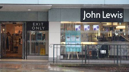 John Lewis in Norwich where staff won't be getting their usual bonus. Picture: DENISE BRADLEY