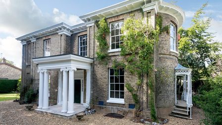 This six bedroom townhouse on Newmarket Road in Norwich is for sale for £1.05m. Picture: Savills