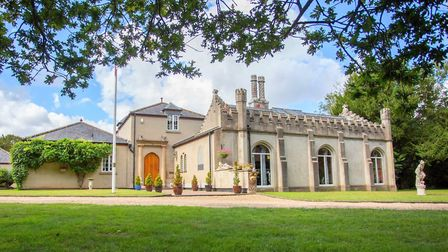 Great Ormesby Hall, which is for sale. Pic: Bycroft