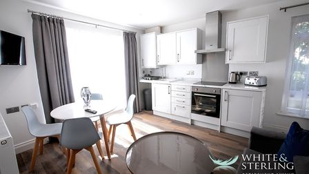 Heath House on Thorpe Road in Norwich comprises 17 one-bedroom apartments as well as a cinema room,