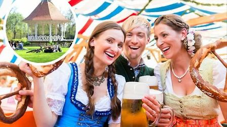 An Oktoberfest event has been granted a licence to run in Chapelfield Gardens in 2021. Credit: Main