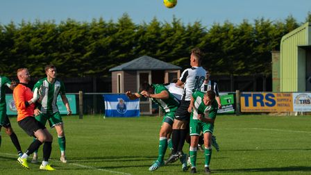 Dereham Town's league campaign begins at Aveley Picture: Robert Groom
