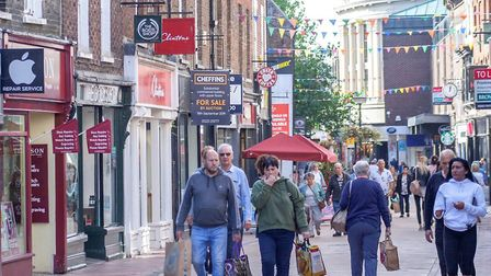 King's Lynn High Street Heritage Action Zone. Image: Kristina McArthur, Borough Council of King's Ly