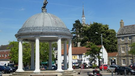 Swaffham High Street Heritage Action Zone - The Buttercross in SwaffhamImage: Breckland District Cou