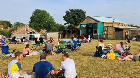 A 'pop-up pub' afternoon at Wildcraft Brewery in Buxton. Picture: Supplied by Wildcraft Brewery