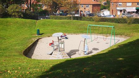 Bowers Avenue park remained shut due to broken glass in both sandpits. Norwich City Council says it