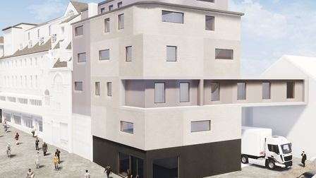 The proposed hotel. Developers are revising some of the original plans. Pic: CAM Architects