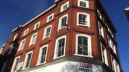 The historic building in Norwich's Guildhall Hill, earmarked for conversion into a luxury hotel. Pic