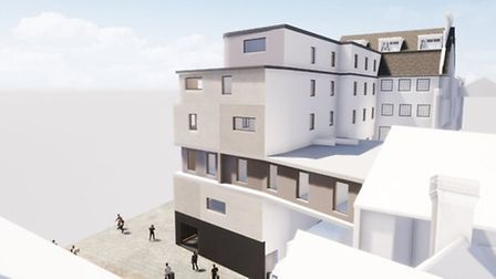 The proposed luxury hotel has hit a snag and the developers are having to revise plans. Pic: CAM Arc