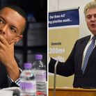 Clive Lewis and Brandon Lewis. Pictures: Archant