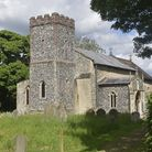 Great Moulton's parish church of St Michael and All Angels anchored in a sea of green. Picture: Trev