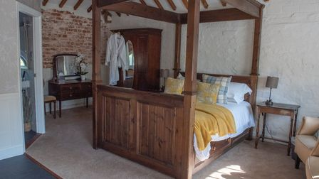 The HayLoft Suite at Caistor Hall. Picture: SARAH LUCY BROWN