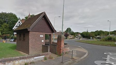 The toilet block where two separate arson attacks have now taken place. PHOTO: Google Maps