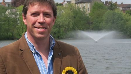 Chris Brown, Liberal Democrat councillor, brought the motion to the full council meeting. Picture: L