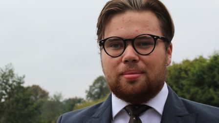 Kieran Murphy, 18, has become one of the UK's youngest town councillors having joined Diss Town Coun