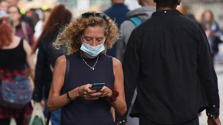 The public have been told to face masks and social distance. Picture: DENISE BRADLEY