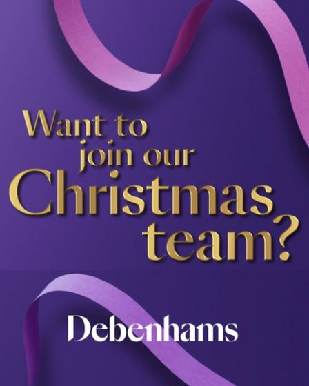 The advert recruiting for temporary workers at Debenhams has sparked an outcry from people who lost