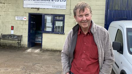 John Eggleton of LA Whitmore and Co, based in Briston, near Fakenham, which is soon closing after 70