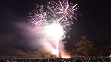 Organisers of Downham Market Fireworks hoping to hold this year's event. Picture: Downham Round Tabl