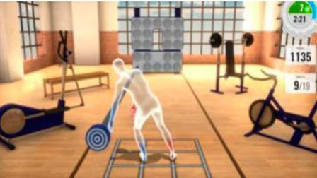 Virtual reality video games are being used by UEA researchers to help stroke survivors. Pic: UEA.