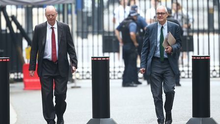 More than 30 medical experts have called on the government, chief medical officer Chris Whitty (left